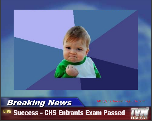 CHS Exam Success Kid